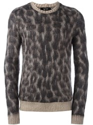 N 21 No21 Leopard Print Jumper Brown