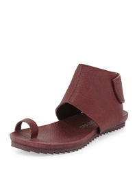 Vania Leather Toe Ring Sandal Port Pedro Garcia