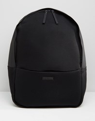 Rains Mesh Backpack In Black Black
