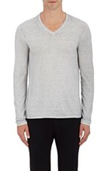 John Varvatos Star U.S.A. V Neck Sweater Grey