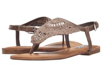 Not Rated Crochet Me Down Taupe Women's Sandals