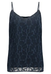 Kiomi Top Dark Blue