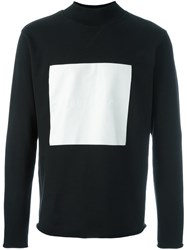Soulland 'Ripped' Roll Neck Sweashirt Black