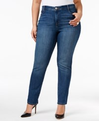 Styleandco. Style Co. Plus Size Tummy Control Slim Leg Jeans Only At Macy's Faith