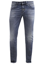 Meltin Pot Martin Slim Fit Slim Fit Jeans Stone Blue