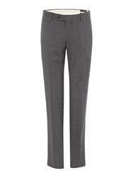 Corsivo Zanobi Check Suit Trousers Grey