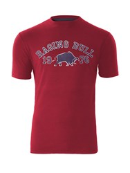 Raging Bull 1976 T Shirt Red