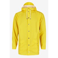 Rains Women's Yellow Hooded Mac