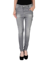 Silvian Heach Denim Pants Grey