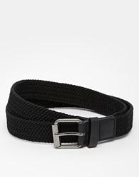 New Look Woven Belt Black