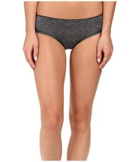 B.Tempt'd B.Splendid Bikini Dark Grey Heather Women's Underwear Gray