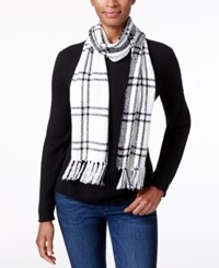 Charter Club Windpine Woven Chenille Scarf Only At Macy's Ivory