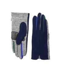Echo Touch Color Block Frchette Gloves Navy Extreme Cold Weather Gloves