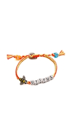 Venessa Arizaga Bee Utiful Bracelet Coral Lemon