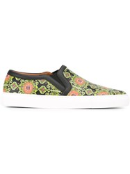 Givenchy Geometric Print Sneakers Multicolour