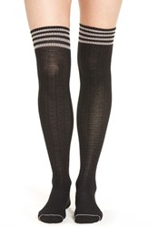 Yummie Tummie Women's By Heather Thomson Wide Waffle Knit Over The Knee Socks