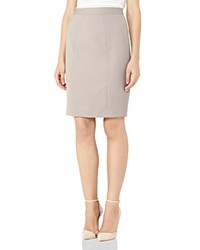 Reiss Truman Tailored Pencil Skirt Gray