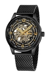 Akribos Xxiv Men's Saturnos Elite Watch Black