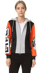 Moschino Hooded Sweatshirt Multi