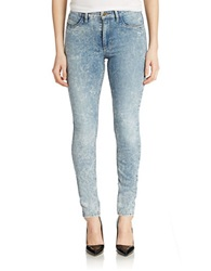 Guess Acid Wash Skinny Jeans Light Blue
