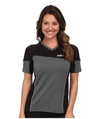 Louis Garneau Hto Tee Black Grey Women's Workout