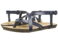 Blowfish Granola Indigo Dyecut Pu Women's Sandals Black