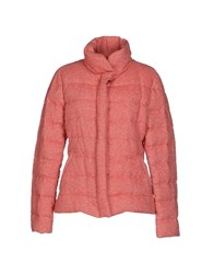Calvaresi Coats And Jackets Down Jackets Women Coral