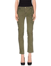 Blauer Trousers Casual Trousers Women Military Green
