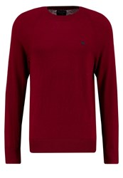Abercrombie And Fitch Jumper Burgundy Bordeaux