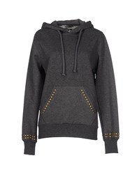 Joe Rivetto Topwear Sweatshirts Women Grey
