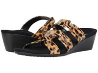 Vionic Dwyn Leopard Women's Wedge Shoes Animal Print