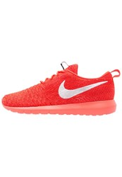 Nike Sportswear Roshe Nm Flyknit Trainers Bright Crimson White University Red