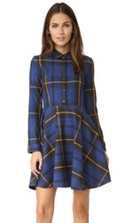 Eleven Paris Plaid Mini Dress