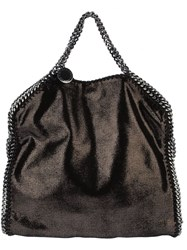 Stella Mccartney 'Falabella' Fold Over Tote Black