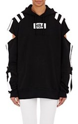 Hood By Air Women's Cutout Sleeve Hoodie Multi