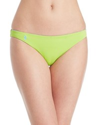 Polo Ralph Lauren Rip Tide Reversible Bikini Bottom Lime Green