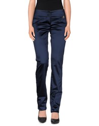 Galliano Trousers Casual Trousers Women Dark Blue