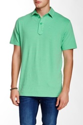 Relwen Supersoft Stripe Polo Green