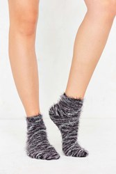 Out From Under Feathery Marled Ankle Sock Rose