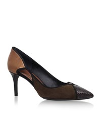 Stuart Weitzman Fiaba Pointed Pumps Female Dark Brown