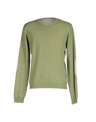 Szen Knitwear Jumpers Men Light Green