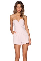 Finders Keepers Inbetween Days Romper Pink