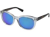 Michael Kors Champagne Beach Clear Tortoise Fashion Sunglasses Gray