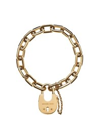 Michael Kors Chains And Elements Golden Link Bracelet