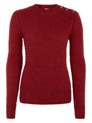 Bzr Beynhil Alpaca Wool Blend Jumper Red