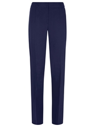 Kaliko Tailored Linen Trousers Navy