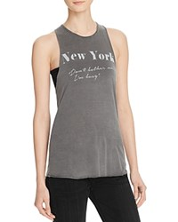 Project Social T Ny Don't Bother Me Tank Charcoal