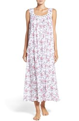 Eileen West Women's Floral Print Jersey Nightgown