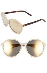 Electric Eyewear Women's Electric 'Riot' 58Mm Round Sunglasses