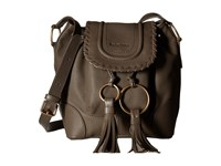 See By Chloe Polly Small Bucket Taupe Shoulder Handbags
